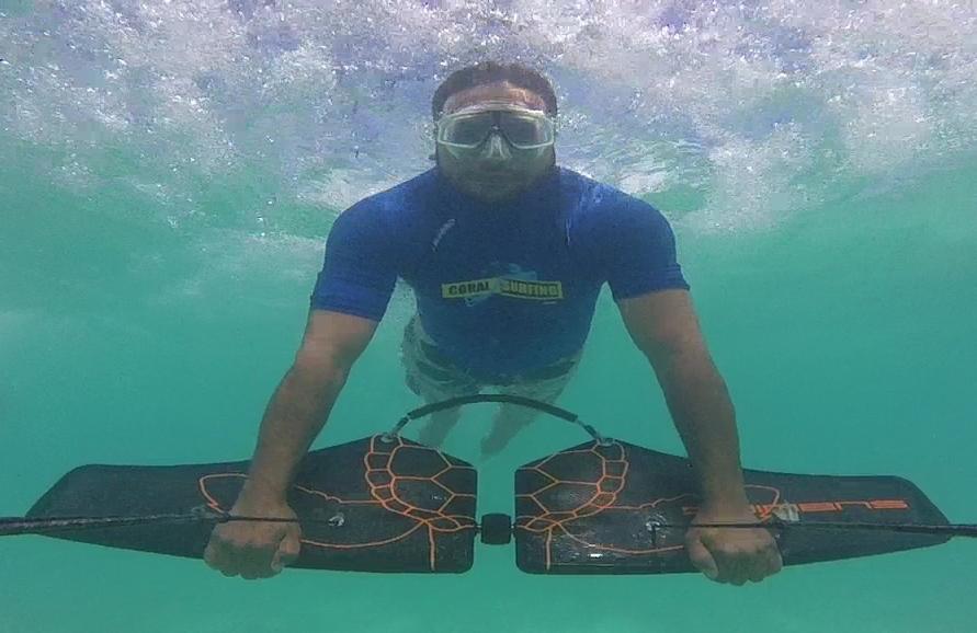 Coral Surfing in Bocas del Toro